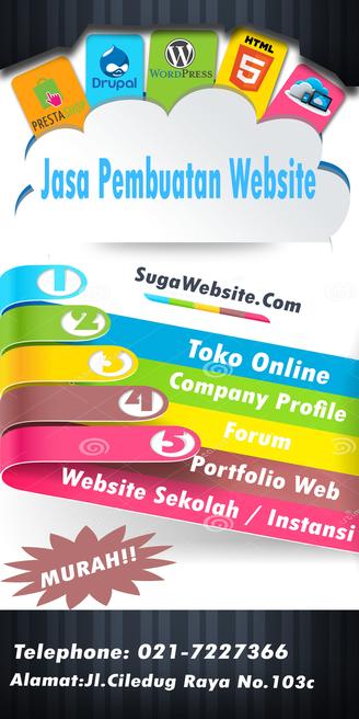Jasa Pembuatan Website | Sugawebsite.com